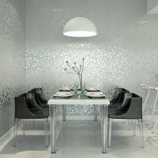 现代餐厅壁纸装修效果图