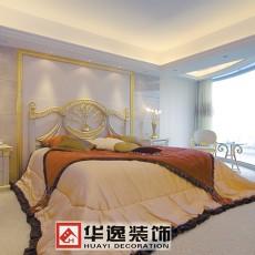 热门108平米三居卧室欧式装修实景图
