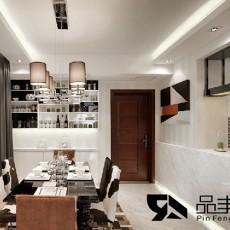 精选面积99平现代三居餐厅设计效果图