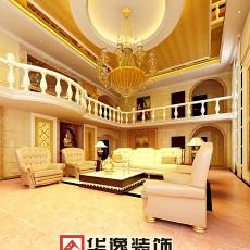 热门面积111平别墅客厅欧式装饰图片欣赏