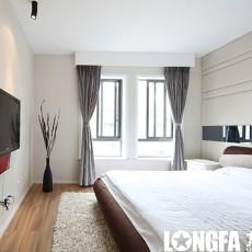 精美面积94平现代三居卧室设计效果图