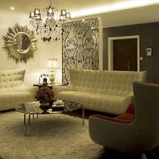 2018精选大小91平现代三居客厅装修图片