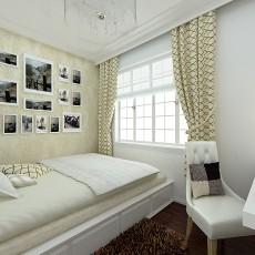 精美大小92平现代三居卧室装饰图片