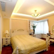 大小107平欧式三居卧室欣赏图片大全
