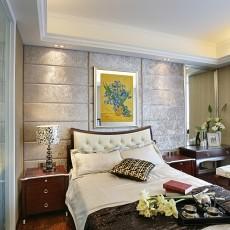 201891平米三居卧室欧式装修设计效果图