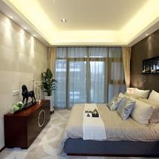 大小99平现代三居卧室装饰图片大全