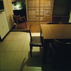 2018精选面积96平中式三居餐厅效果图片