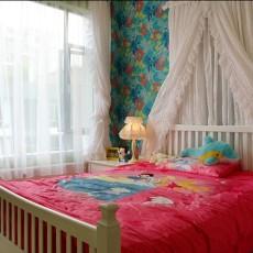 84平米二居卧室现代装修实景图片大全