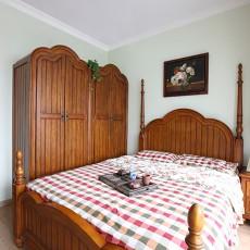 面积100平美式三居卧室效果图片大全