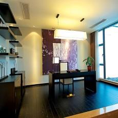 精选70平米二居书房现代实景图片