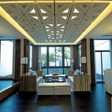 精选84平米二居客厅现代装饰图片欣赏