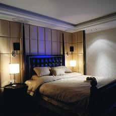 201896平米三居卧室现代设计效果图