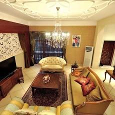 面积122平别墅客厅欧式效果图片大全