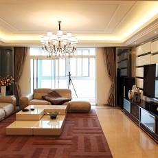 2018精选大小74平现代二居客厅装修图