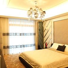 精美80平米二居卧室现代装饰图片大全