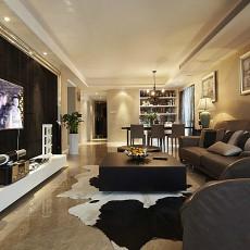 精选89平米二居客厅现代装饰图片