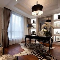 精美欧式二居书房装修欣赏图片大全