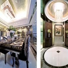 精美面积132平别墅餐厅现代装修设计效果图片大全