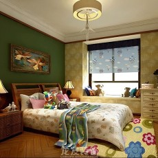 美式二居卧室装饰图片大全