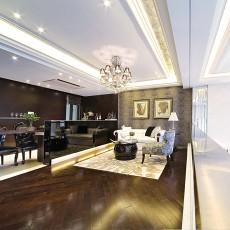 精美面积128平别墅客厅现代实景图片大全