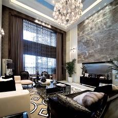 精选面积111平别墅客厅现代装修设计效果图片大全