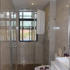 热门98平米三居卫生间现代装修效果图片大全
