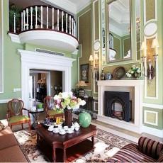 精选美式复式客厅设计效果图