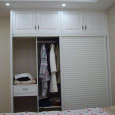 欧式卧室衣柜效果图