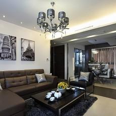 精美70平米现代小户型客厅设计效果图