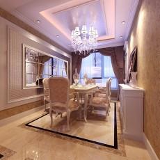 热门84平米二居餐厅欧式装修效果图