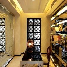 精选面积106平现代三居书房装修设计效果图片欣赏