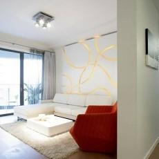 2018精选88平米二居客厅现代欣赏图片大全
