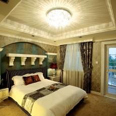 欧式别墅卧室装修设计效果图片欣赏