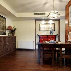 精选78平米二居餐厅中式装饰图