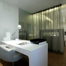 面积88平现代二居书房装修欣赏图