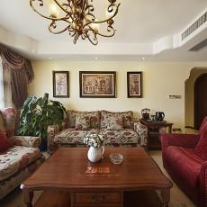 精美93平方三居客厅美式装修实景图