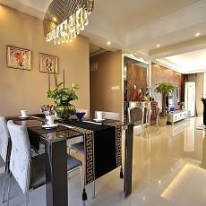 热门94平米三居餐厅欧式装修设计效果图