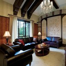 精选134平方中式别墅客厅装修欣赏图