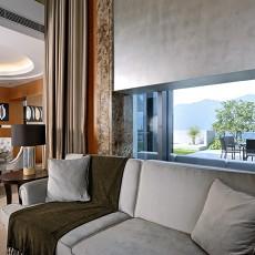 精美133平米现代复式客厅装修实景图片大全