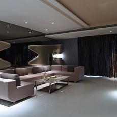2018精选98平米三居客厅现代装修设计效果图片大全