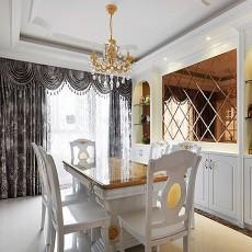 大小90平欧式三居餐厅实景图片大全
