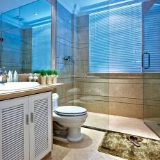 精选123平米欧式别墅卫生间欣赏图