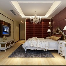 精选75平米二居卧室现代装饰图片欣赏