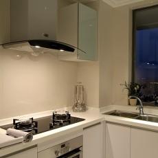 精选面积85平欧式二居厨房效果图片欣赏