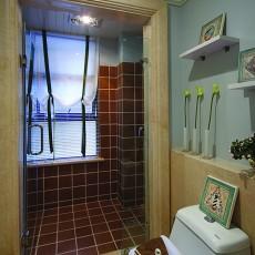 热门121平米地中海别墅卫生间欣赏图