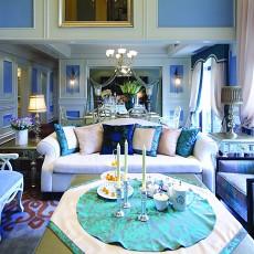 精美别墅客厅地中海装修设计效果图