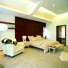 109平方三居卧室现代装修欣赏图片