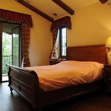 精美141平米美式别墅卧室装修设计效果图片大全