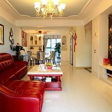 精美简约二居客厅装修设计效果图片大全