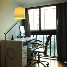 精选90平米二居书房现代装修欣赏图